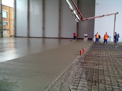 Промышленный бетон